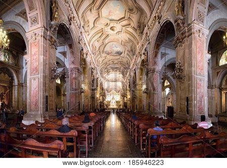 Santiago Metropolitan Cathedral, Chile
