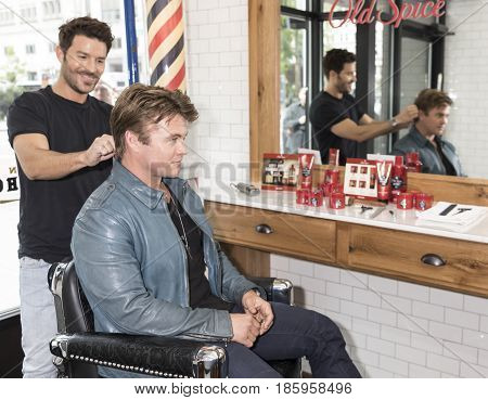 Luke Hemsworth Teams Up With Old Spice