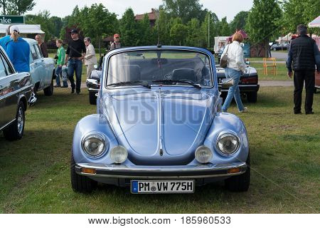 Paaren Im Glien, Germany - May 19: Car Volkswagen Beetle (cabriolet),