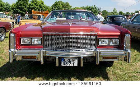Paaren Im Glien, Germany - May 19: Full-size Personal Luxury Car Cadillac Eldorado (eighth Generatio