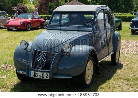 Paaren Im Glien, Germany - May 19: Car Citroen 2Cv,