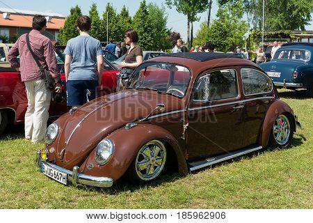 Paaren Im Glien, Germany - May 19: Car Volkswagen Beetle,