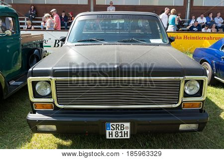Paaren Im Glien, Germany - May 19: Car Chevrolet Ck Pickup Truck (1974),