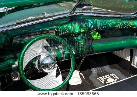 Paaren Im Glien, Germany - May 19: Cab Custom Car Based On The Buick Skylark,