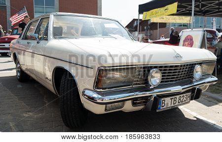 Paaren Im Glien, Germany - May 19: Luxury Car Opel Admiral,