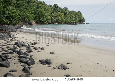 Praia Micondo, Sao Tome and Principe, Africa