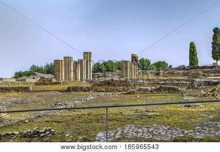 Roman ruins in Italica - Roman city near Seville Spain