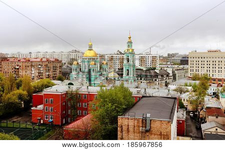 The Epiphany Cathedral is an Orthodox Cathedral in Moscow.
