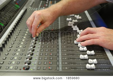 Music Recording Studio Board