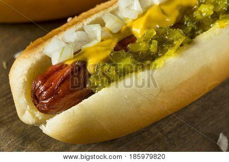 Homemade Deep Fried Hot Dogs