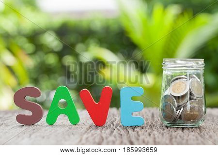 Saving money concept. education and business concept