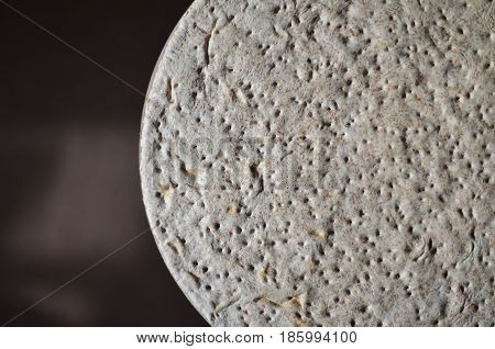 The Texture Of The Base For Instant Pizza In Raw Condition