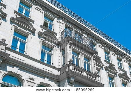 Restored Building Exterior / Apartment Building Facade