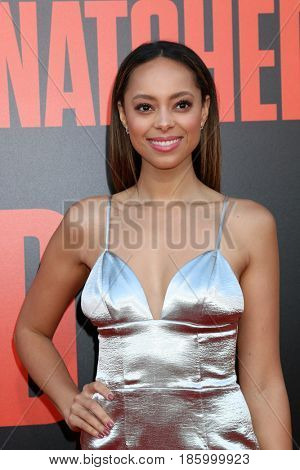 LOS ANGELES - MAY 10:  Amber Stevens West at the