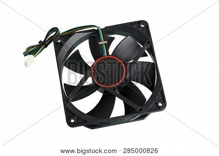 Computer Fan For Cooling Pc Temperature From Overheat