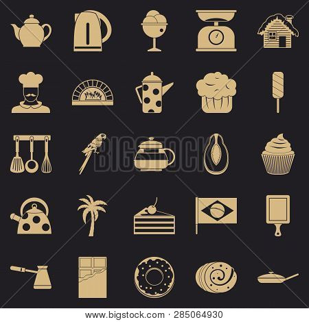 Tavern Icons Set. Simple Set Of 25 Tavern Vector Icons For Web For Any Design