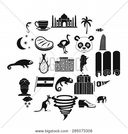 Hot Edge Icons Set. Simple Set Of 25 Hot Edge Vector Icons For Web Isolated On White Background