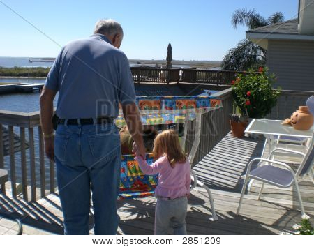 Gramps And Little Lu