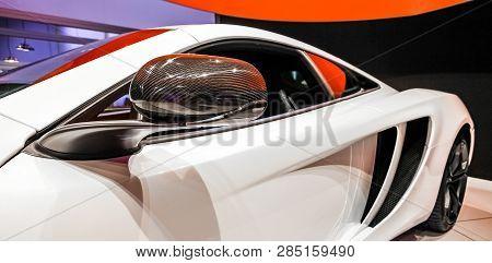 Johannesburg, South Africa - October 06 2011: Mclaren Mp4-12c On Display