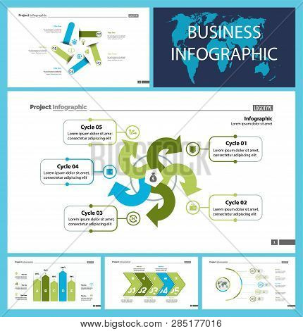 Creative Business Presentation Slide For Management Concept. Can Be Used For Business Project, Annua