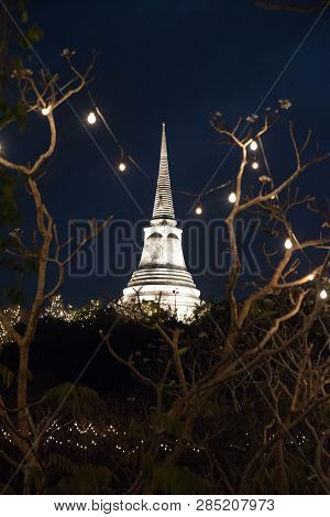 On The Central Peak Of Maha Sawan Hill, There Had Formerly Been A Much-deteriorated Chedi Belonging