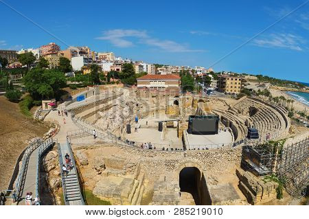 Tarragona Is A Port City Located In Northeast Spain