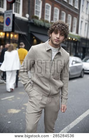 Eyal Booker - Curly-haired Model Who Has Worked With Brands Such As Adidas And Bang+strike.