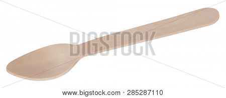 Wooden spoon cheap natural cutlery