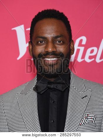 LOS ANGELES - FEB 19:  Baron Vaughn arrives for the 21st CDGA (Costume Designers Guild Awards) on February 19, 2019 in Beverly Hills, CA