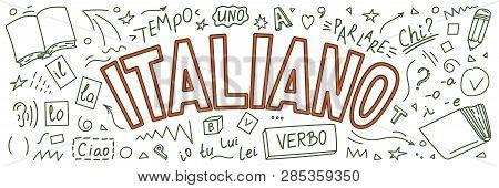 Italiano. Il, Lo, La, Ciao, Verbo, Uno, Chi?, Io, Tu, Lui, Lei, Parlare, Tempo