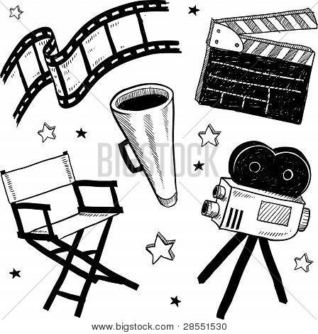 Movie set equipment
