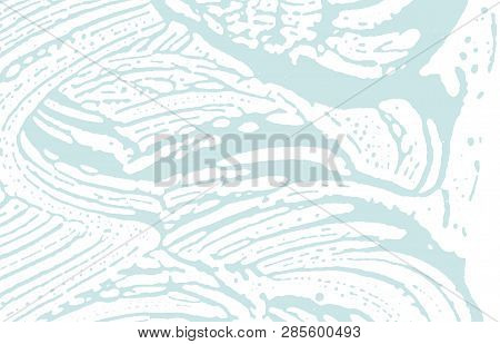 Grunge Texture. Distress Blue Rough Trace. Bold Background. Noise Dirty Grunge Texture. Radiant Arti
