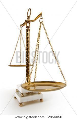 Vintage Scales Of Justice