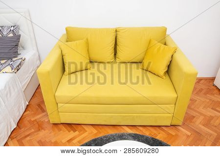 Modern Yellow Two-seat Image & Photo (Free Trial) | Bigstock