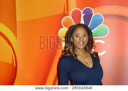 LOS ANGELES - FEB 20:  Shanique Drummond at the NBC's Los Angeles Mid-Season Press Junket at the NBC Universal Lot on February 20, 2019 in Universal City, CA