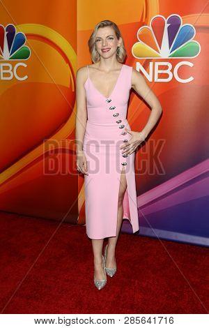 LOS ANGELES - FEB 20:  Kara Killmer at the NBC's Los Angeles Mid-Season Press Junket at the NBC Universal Lot on February 20, 2019 in Universal City, CA