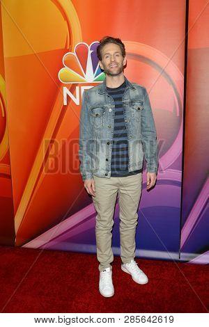 LOS ANGELES - FEB 20:  Glenn Howerton at the NBC's Los Angeles Mid-Season Press Junket at the NBC Universal Lot on February 20, 2019 in Universal City, CA