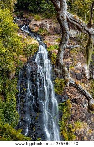 Morans Falls In Lamington National Park, Qld, Australia