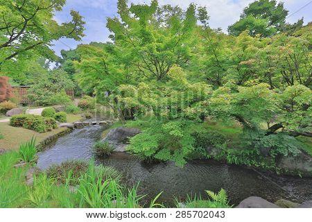 Koko En Garden At Himeji Castle, Hyogo, Japan
