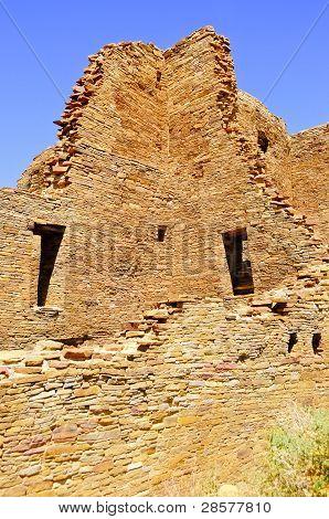 Pueblo Bonito at Chaco Canyon New Mexico poster