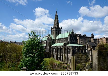 The Medieval Glasgow Cathedral Is The Oldest Cathedral On Mainland Scotland And The Oldest Building