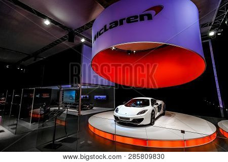 Mclaren Mp4-12C On Display