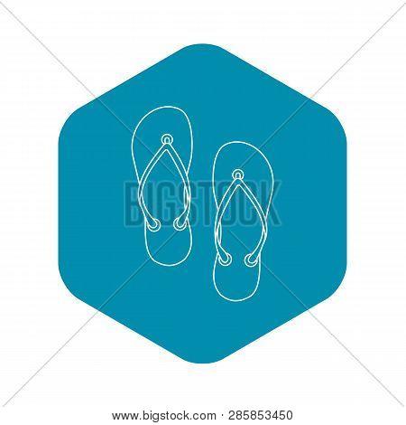 Slates Icon. Outline Illustration Of Slates Vector Icon For Web
