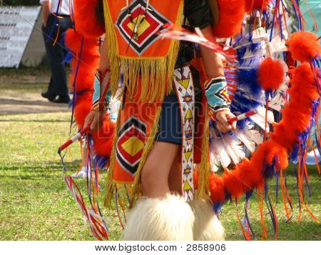 Colorful Native American Dress