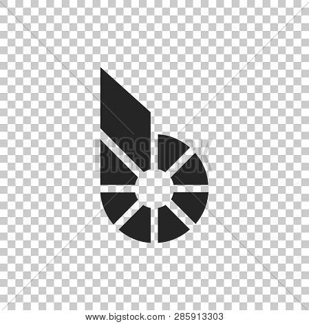 Cryptocurrency Coin Bitshares Bts Icon Isolated On Transparent Background. Physical Bit Coin. Digita