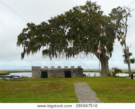 Fort Frederica Kings Powder Magazine Georgia