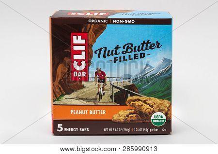 Clif Bar Energy Bar Container And Trademark Logo