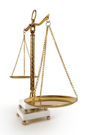 Vintage Scales Of Justice