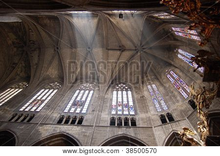 Inside Narbonne Cathedral