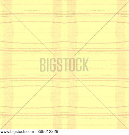 Indigo Square Plaid. Seamless Textured Design. Scotland Tartan Fabric. Abstract Man Material. Square